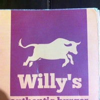 Photo taken at Willy's Authentic Burger by Claudio G. on 6/17/2012
