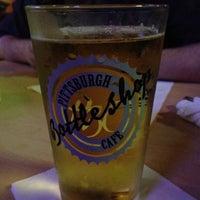Photo taken at Pittsburgh Bottle Shop Cafe by Elizabeth S. on 7/6/2012