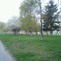 Photo taken at Parcul Centrul Civic by Valentin M. on 4/22/2012