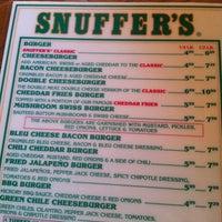 Photo taken at Snuffer's by Joe S. on 6/9/2012
