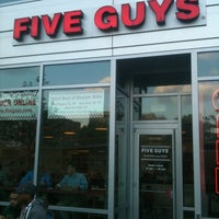 Photo taken at Five Guys by Stewart M. on 4/20/2012