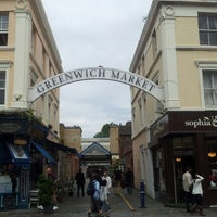 Photo taken at Greenwich Market by Kazuhisa Y. on 7/14/2012