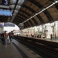 Photo taken at Bahnhof Berlin Alexanderplatz by Gisele N. on 7/27/2012