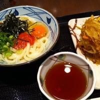 Photo taken at Marugame Seimen by Mischa T. on 4/4/2012
