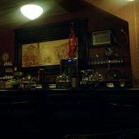 Photo taken at Mamoun's Mideast Cafe by Kim o. on 4/16/2012