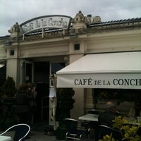 Photo taken at Café de La Concha by Blogofago on 4/7/2012