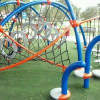 Photo taken at Lake Eva Community Park by Bryan G. on 2/26/2012