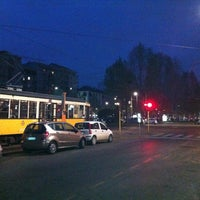 Photo taken at Tram Direzione Centro by Andrea L. on 4/3/2012