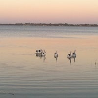 Photo taken at Lake Albert Caravan Park by Nicholas T. on 2/21/2012