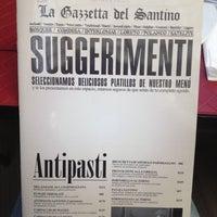 Photo taken at Santino by Luisa G. on 2/19/2012