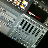 Photo taken at TV Litoral News by Rafael B. on 3/21/2012