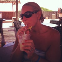 Photo taken at Pearl South Padre Swim-up Bar by Miracle O. on 8/27/2012