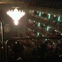 Photo taken at Teatro Español by Fran on 3/18/2012