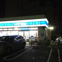 Photo taken at LAWSON by Yoshio O. on 9/3/2012