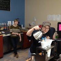 Photo taken at Bee Coffee Roasters by Dana K. on 3/23/2012