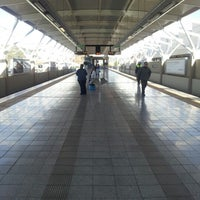 Photo taken at Gautrain Pretoria Station by Spiyoyo L. on 6/10/2012