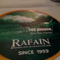 Photo taken at Rafain Brazilian Steakhouse by Ivan B. on 7/3/2012