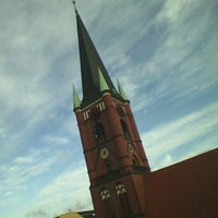 Photo taken at Samariterkirche by Steffen S. on 2/27/2012
