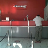 Photo taken at Correos Chile by fernando z. on 6/11/2012