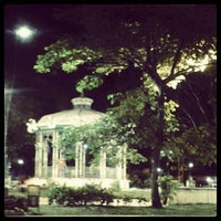 Photo taken at Praça Batista Campos by Meg V. on 8/21/2012
