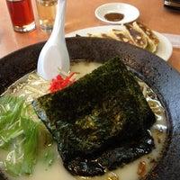 Photo taken at ラーメン新世 本店 by Kiyoshi Y. on 6/20/2012