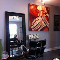 Photo taken at Rouge Roots Salon by Libby C. on 8/25/2012