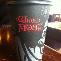 Photo taken at Wired Monk Coffee Bistro by Tim W. on 8/8/2012