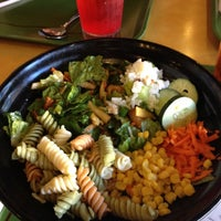 Photo taken at Souplantation by Connie on 9/4/2012