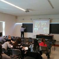 Photo taken at Universitat de Girona - Facultat de Dret by Pau B. on 3/16/2012