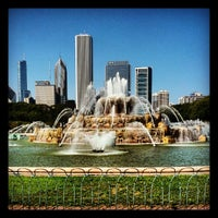 Photo taken at Clarence Buckingham Memorial Fountain by brendan w. on 9/3/2012