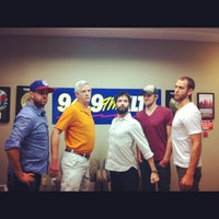 Photo taken at 94.9 KLTY by Tooth & Nail R. on 8/28/2012