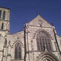Photo taken at Place Saint-Pierre by Matthias V. on 6/15/2012