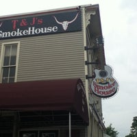Photo taken at T & J's Smokehouse by Nell J. on 6/11/2012