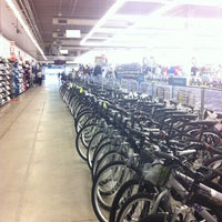 Photo taken at Decathlon by Andrea F. on 5/25/2012