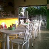 Photo taken at Posto Japú by Alessandra P. on 3/13/2012