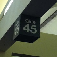 Photo taken at Gate 45 by natalie l. on 4/19/2012