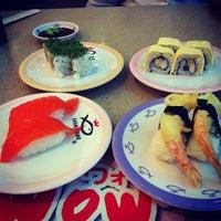 Photo taken at Sushi King by Angel P. on 9/3/2012