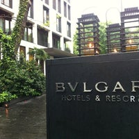 Photo taken at Bulgari Hotels & Resorts by Andre S. on 4/18/2012