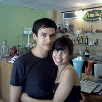 Photo taken at Sticky Rice Thai by Dayna R. on 6/18/2012