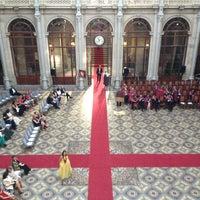 Photo taken at Palácio da Bolsa by Andre R. on 6/22/2012