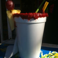Photo taken at Micheladas jahuactal by Amy S. on 4/22/2012