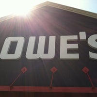 Photo taken at Lowe's Home Improvement by Tommy C. on 5/9/2012