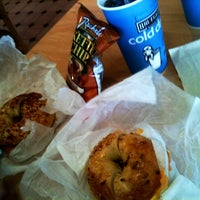 Photo taken at Bruegger's Bagel Bakery by Eric C. on 6/30/2012
