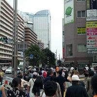 Photo taken at 勝どき駅前交差点 by yasuzoh on 8/11/2012