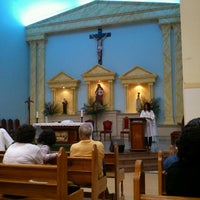 Photo taken at Igreja Bom Pastor by Leonardo M. on 6/2/2012