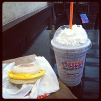 Photo taken at Dunkin' Donuts by Melissa B. on 6/28/2012