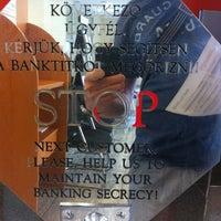 Photo taken at UniCredit Bank by Petykó B. on 7/11/2012