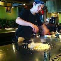 Photo taken at Shichimi Teppanyaki by Jota on 8/29/2012