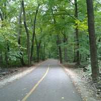Photo taken at Caldwell Woods Bicycle Trail (North Branch Trail) by Yvonne H. on 9/2/2012
