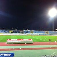 Photo taken at GSZ stadium by Pitsillis I. on 3/14/2012